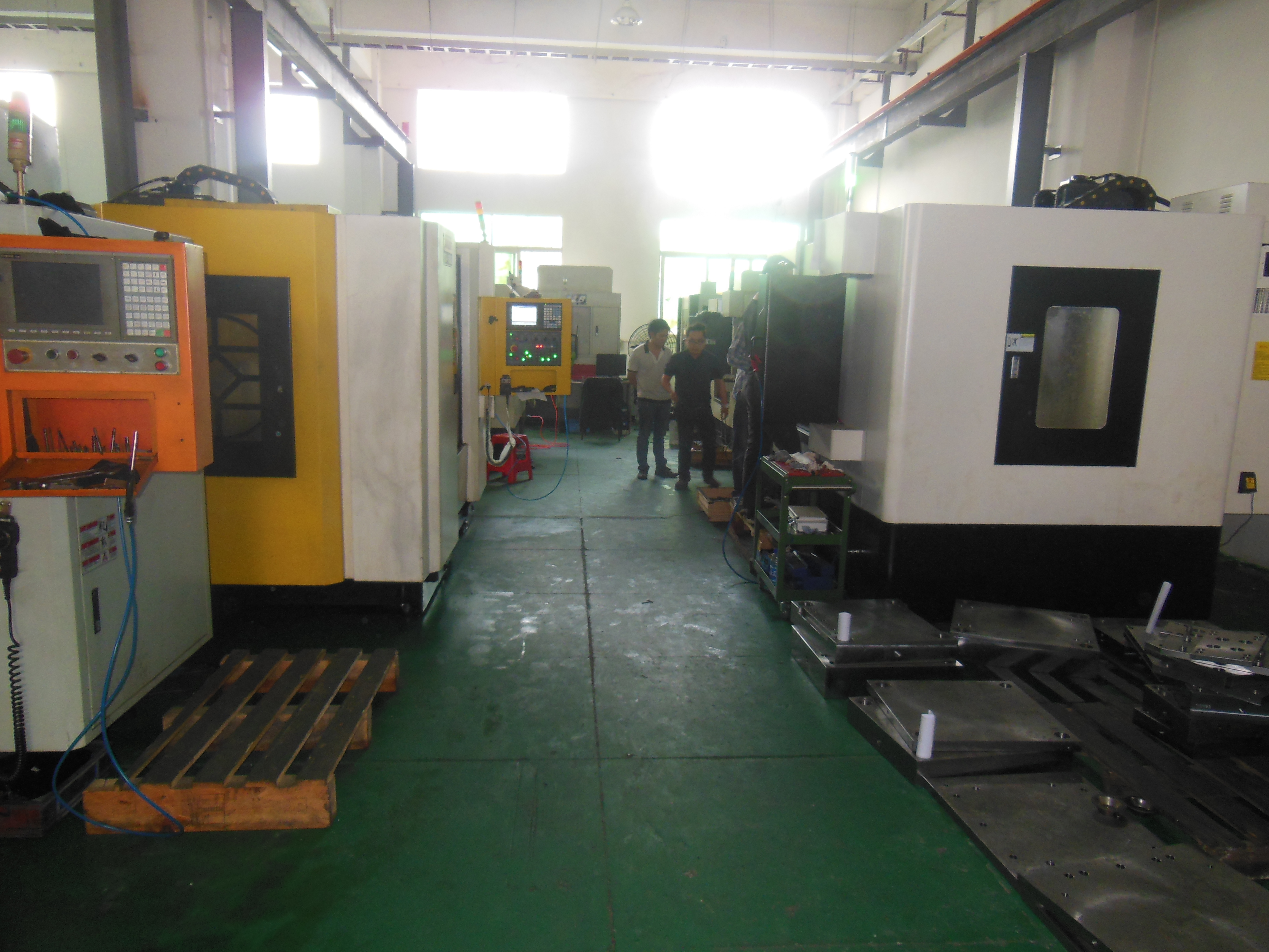 manufacturing equipment 21